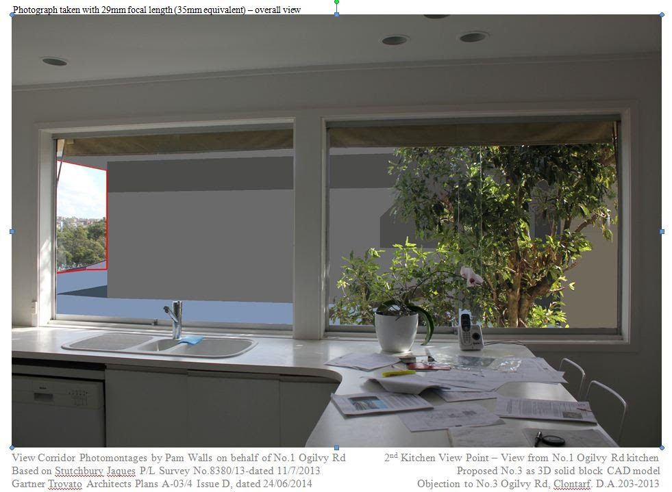 Kitchen View - Solid Overlay